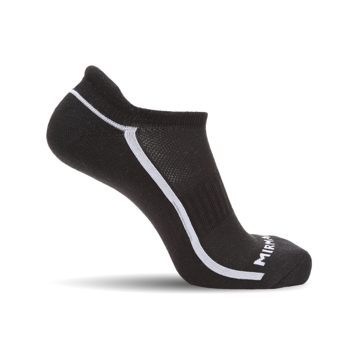 c6322dd4052a MIRMARU 6 Pairs Running No Show Low Cut Athletic Cushion Tab Breathable  Comfortable Cotton Socks for Men and Women