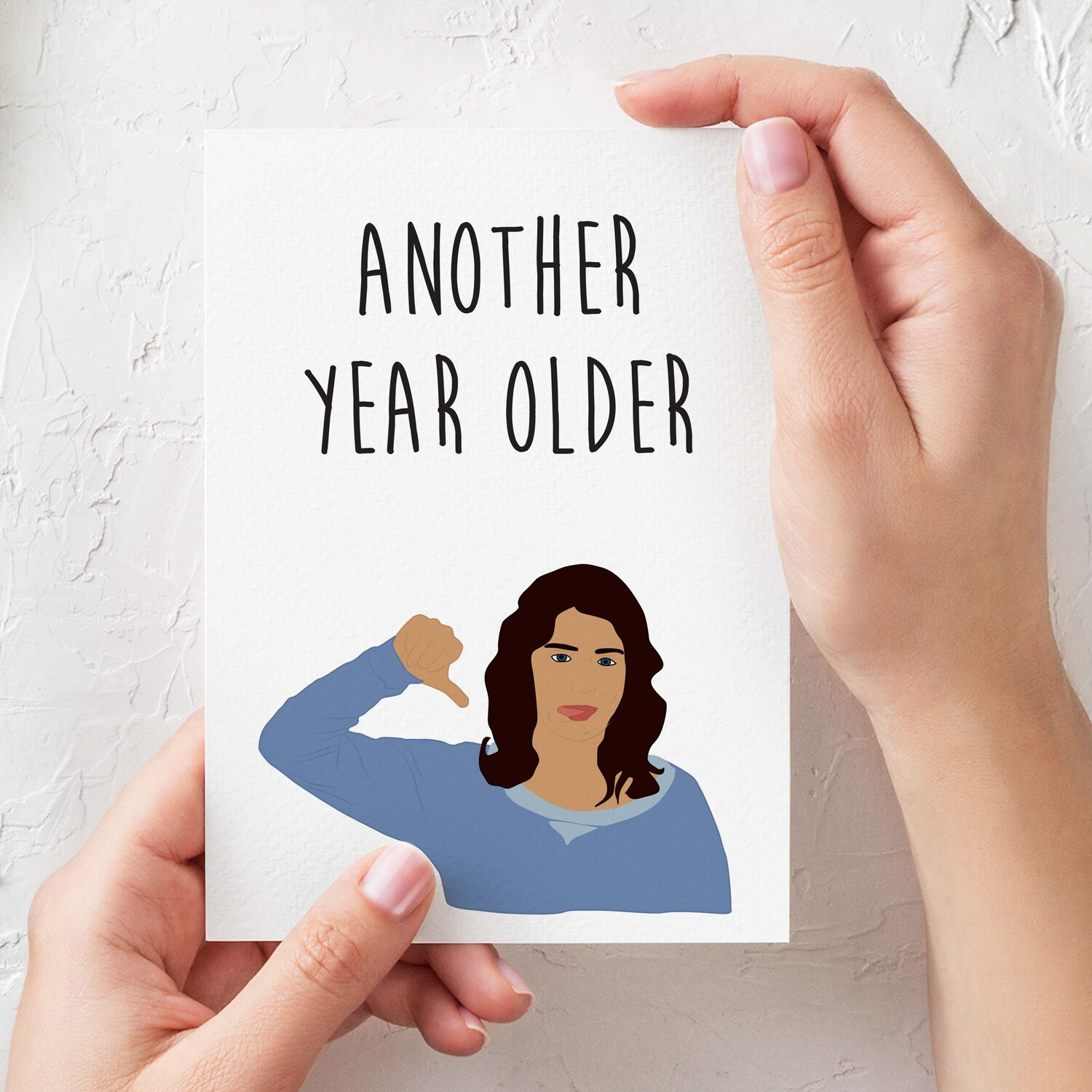 Robin Scherbatsky Another Year Older How I Met Your Mother Funny Birthday Card