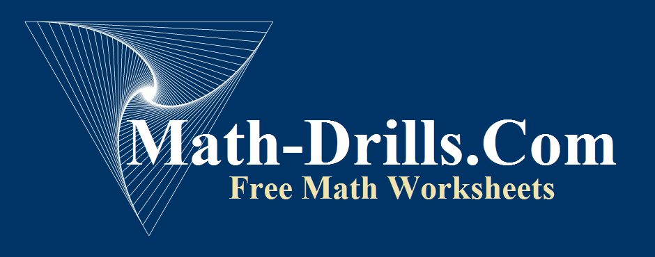 If you are looking for a nice collection of math worksheets it's hard to beat math-drills.com. Tons of free worksheets with answer keys included