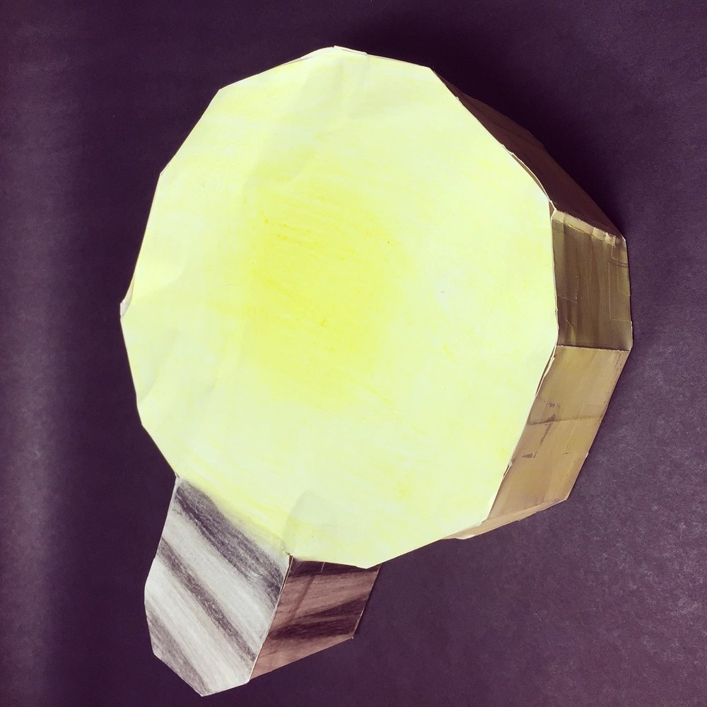 The idea? A light bulb of course. How do you make a light bulb? Make a Hendecagon of naturally.