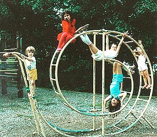 Did anyone ever play on one of these as a kid? What a fun idea! Where is the best playground you have ever been to? #nail_snail_baby #playgroundfun #cutesnail #kidshavingfun #allaboard #climbing #getthemoutside