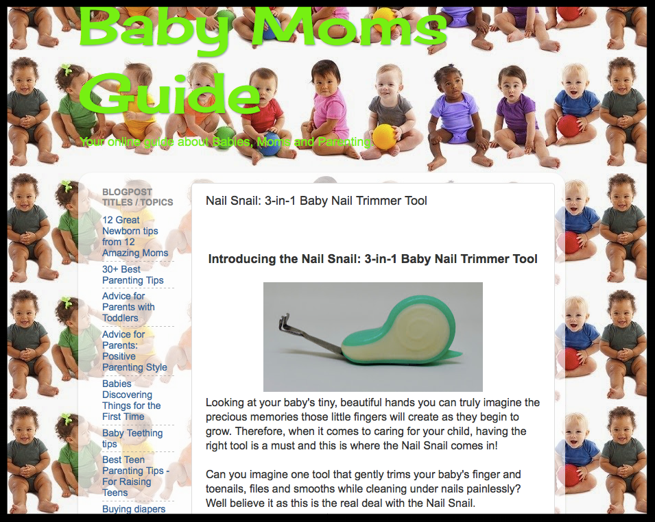 Baby Moms Guide Blog