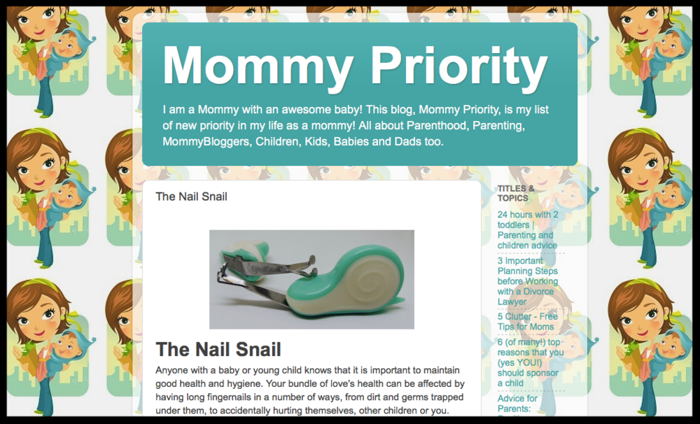 Mommy Priority Blog