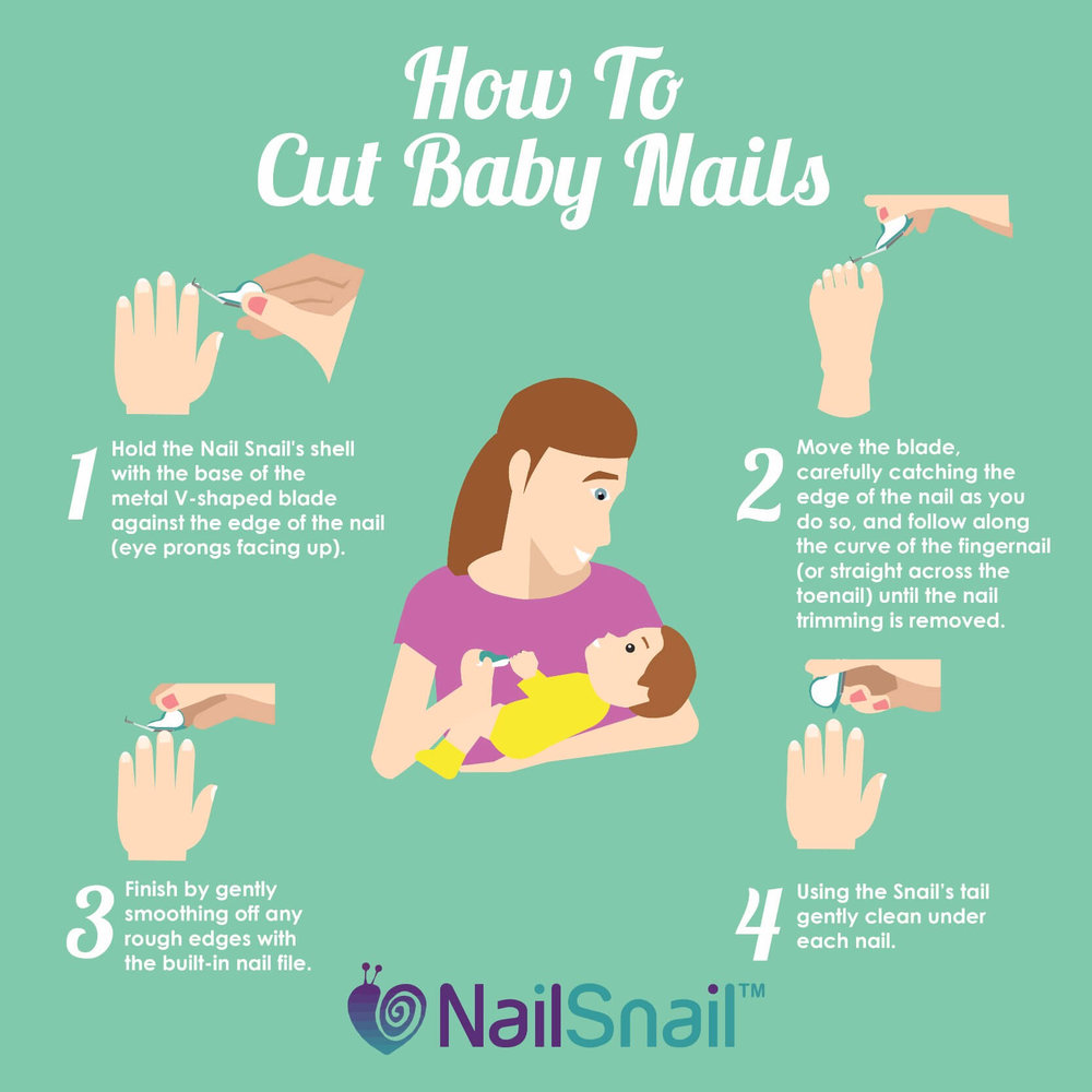 Nail Snail - How to Cut Baby Nails