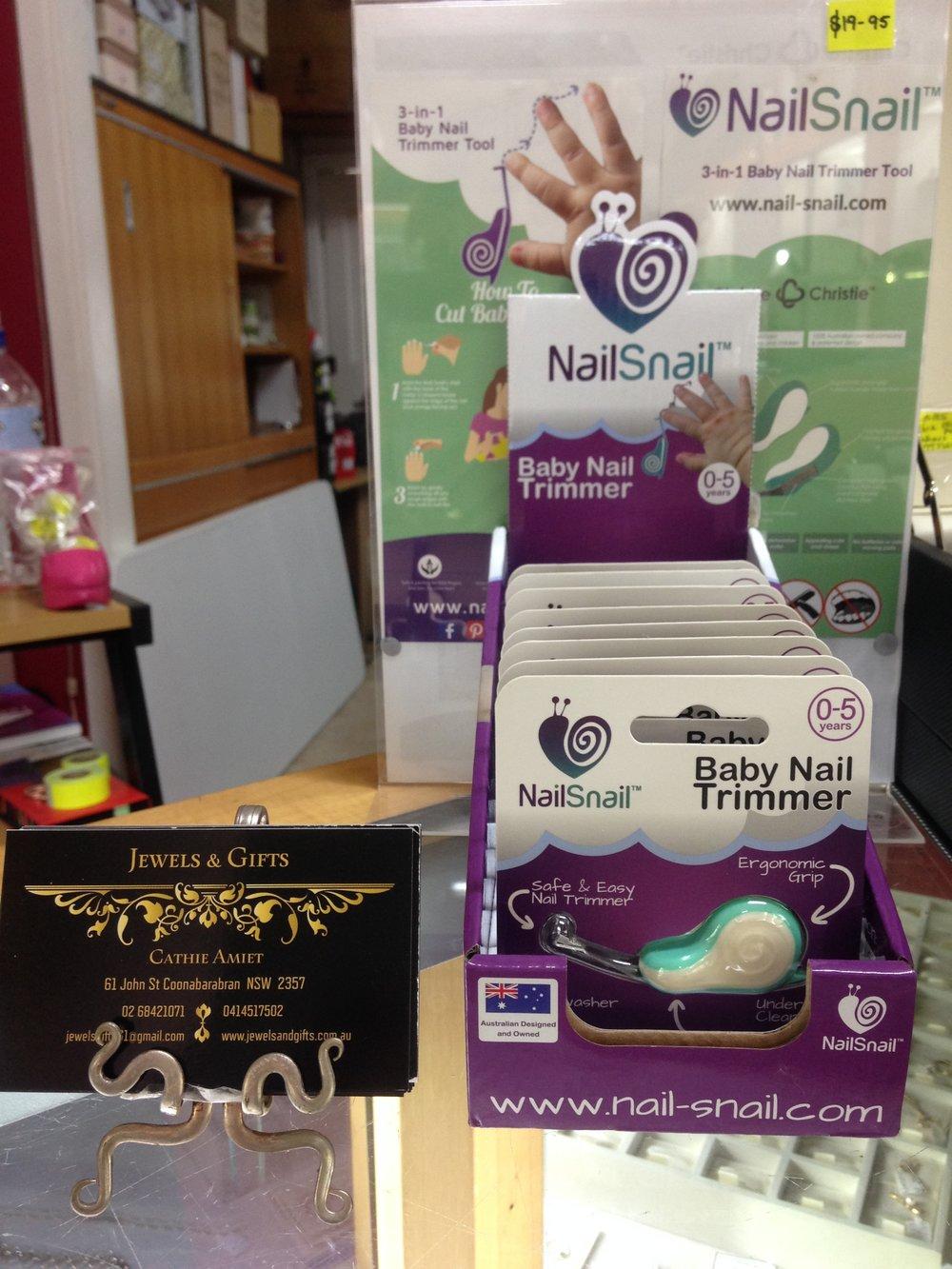 Nail Snail SRC counter display