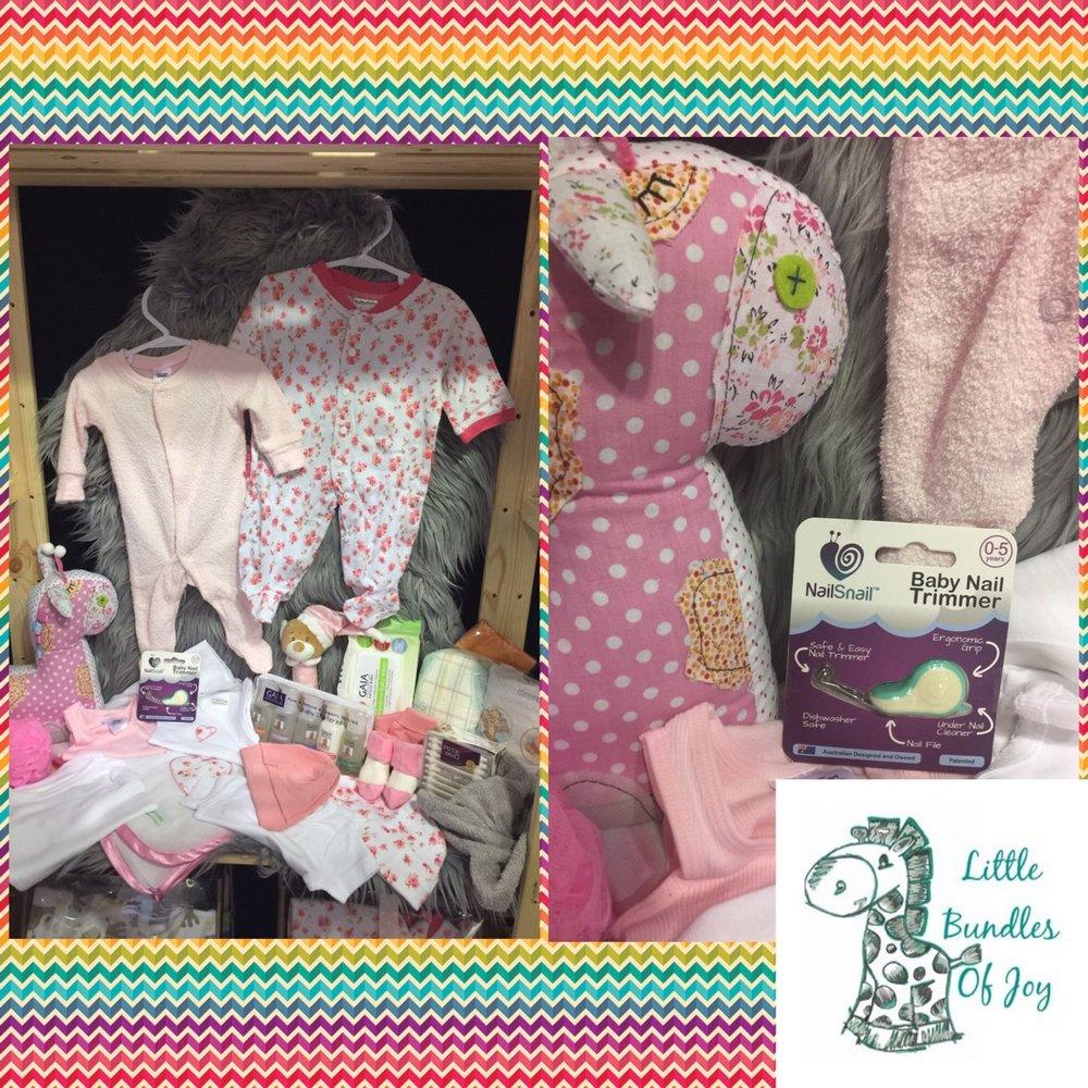 Nail Snail Little Bundles of Joy Gift Bag