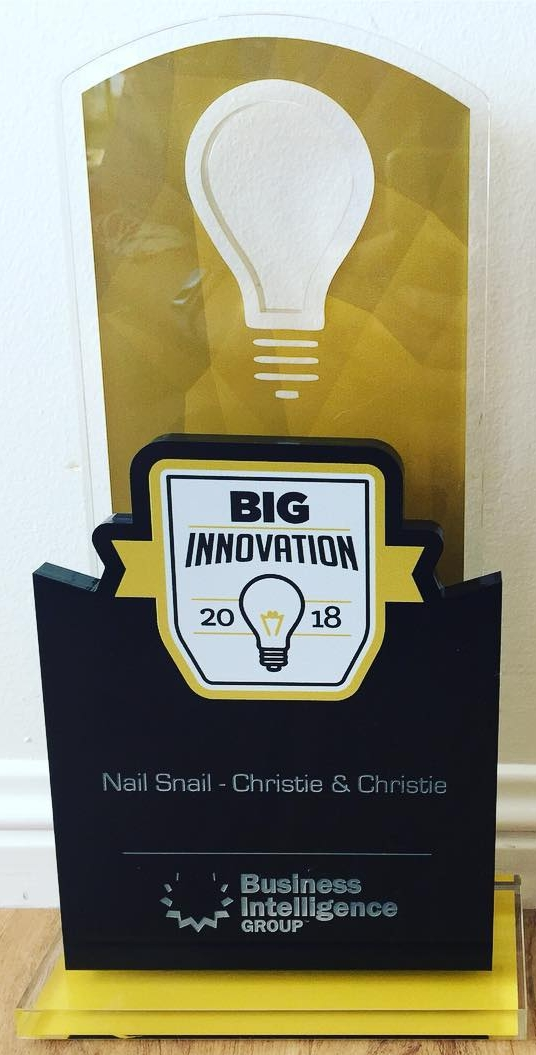 The Nail Snail Big Innovation Award 2018