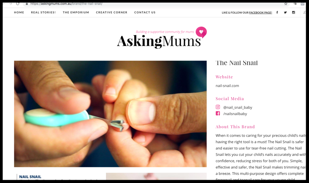 Asking Mums Blog