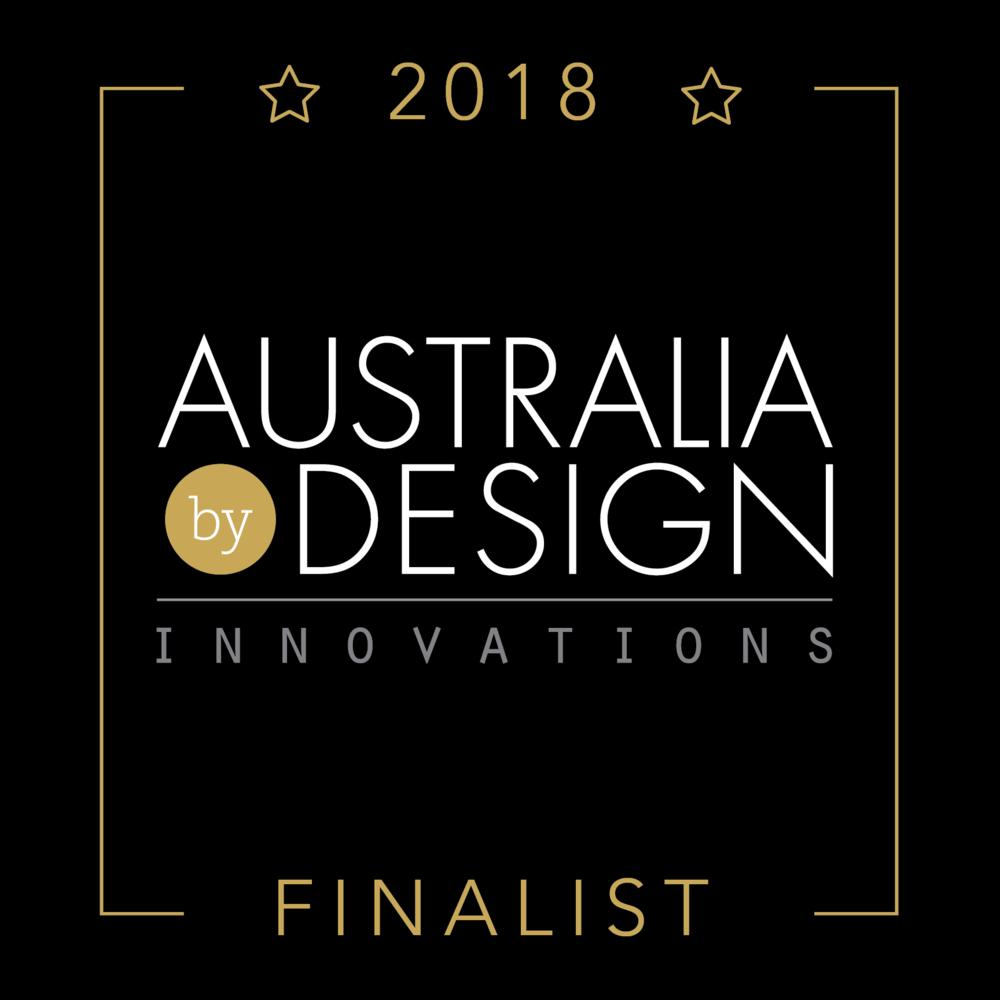 Australia By Design Finalist Badge