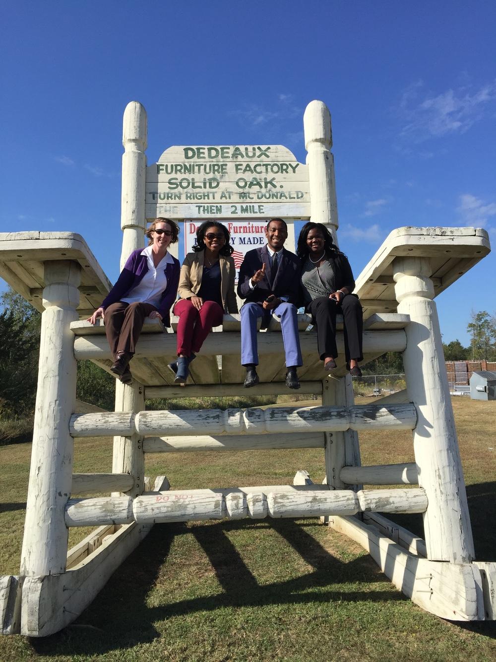 USM PRSSA explore PR in Gulf Port, MS.