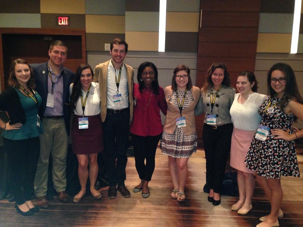 2015 PRSSA National Conference in Atlanta, GA