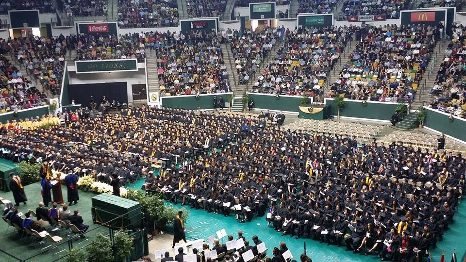 Southeastern Louisiana University Fall Class of 2014. Photo by Jackie Miller-Wilson.