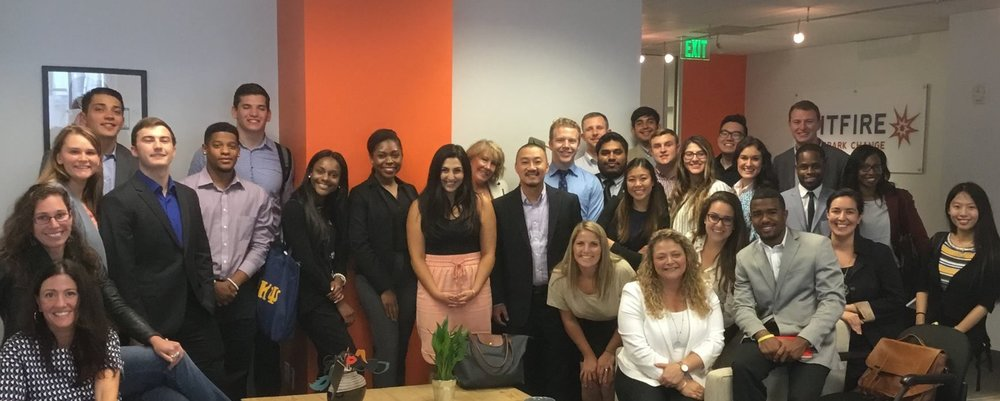 A small selection of the National Millennial Community at Spitfire offices.