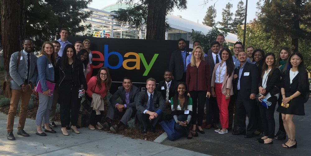 The eBay campus was the last stop on our tours of the Bay.