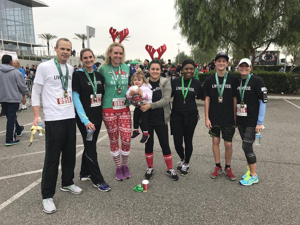 TEAM IEUW conquers the 2016 Reindeer Run