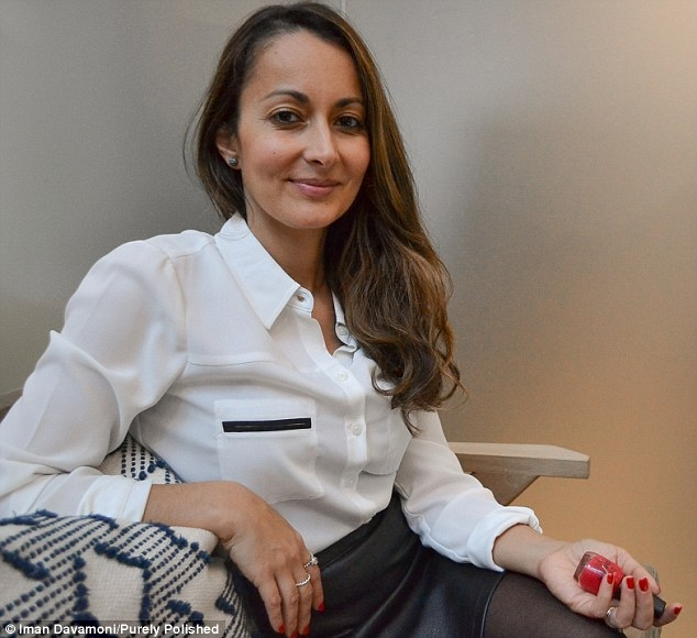Iman Davomoni of Purely Polished (pictured) explains how to treat nails that have become damaged shellac, SNS and acrylics