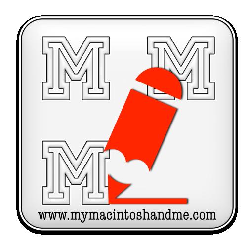 Original logo of My Macintosh and Me