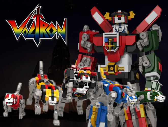 Voltron Lego Idea