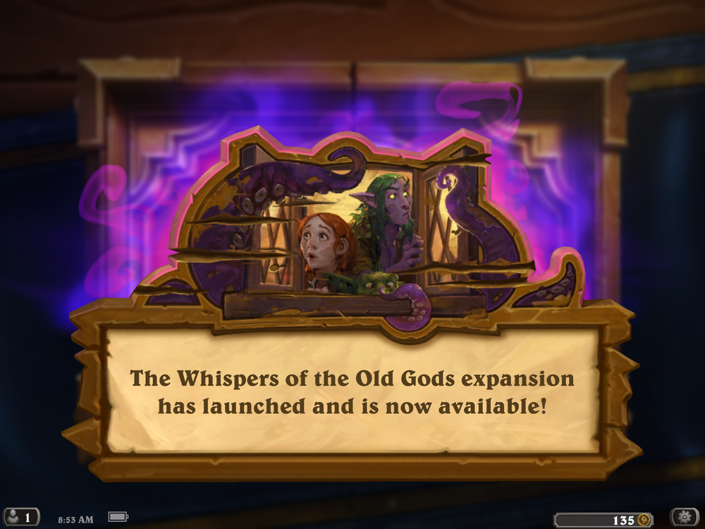 Whispers of the Old Gods Release