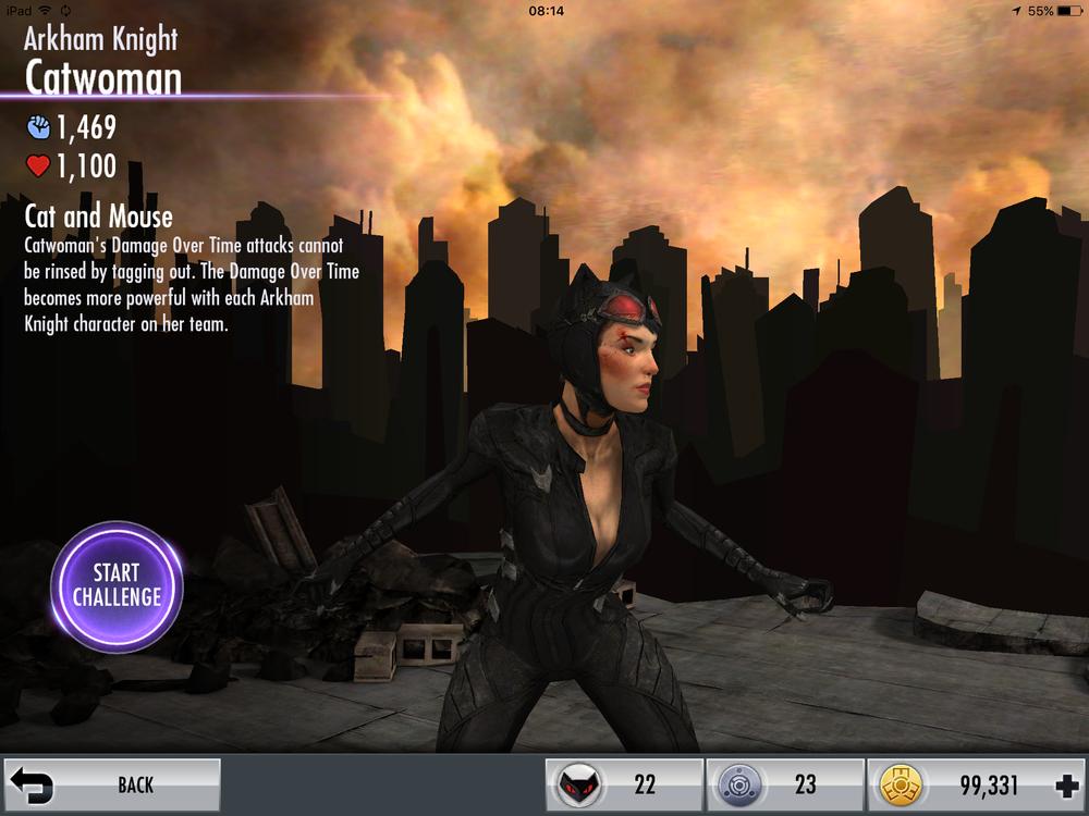Catwoman Arkham Knight skills