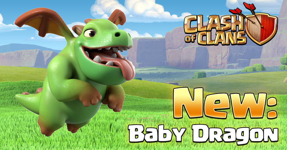 Baby Dragon - Clash of Clans