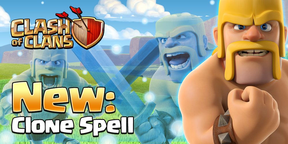 Clone Spell - Clash of Clans