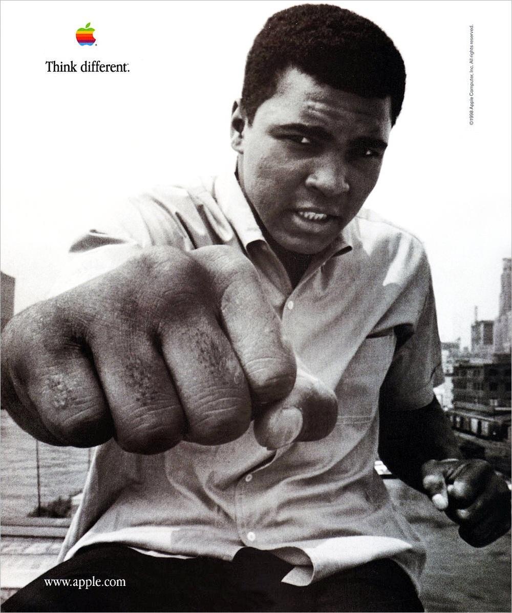 Muhammad Ali Think Different