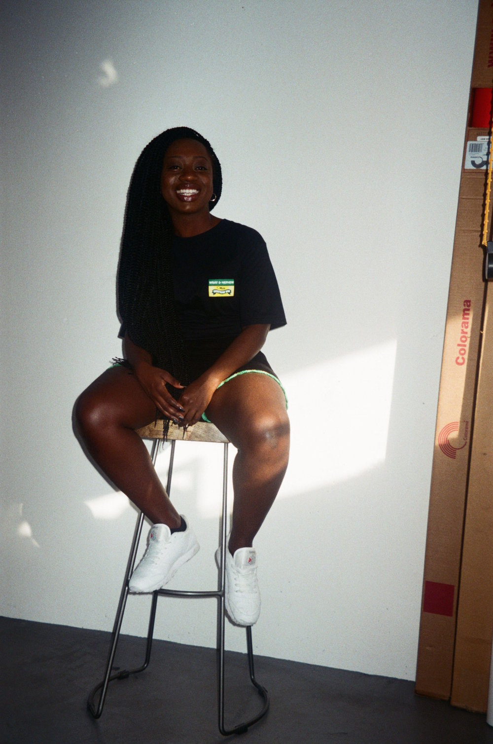 Sandra Omari  DJ/Blogger