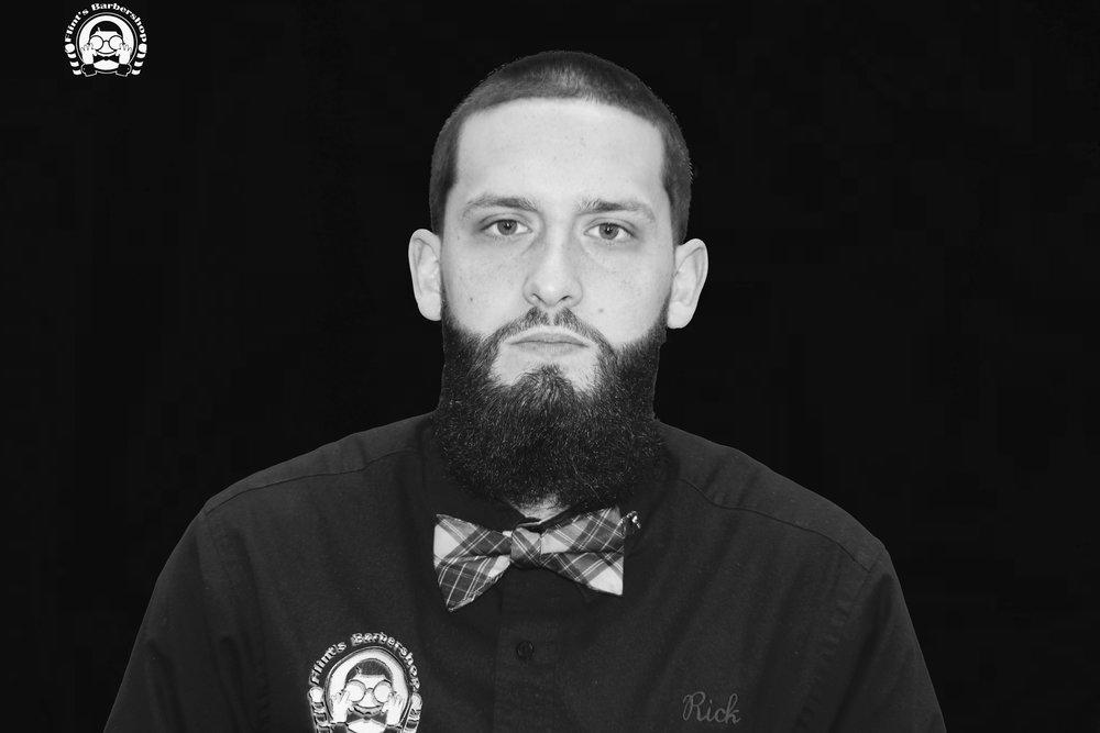 Rick Bordeau Owner Flint's Barbershop Enfield Enfield