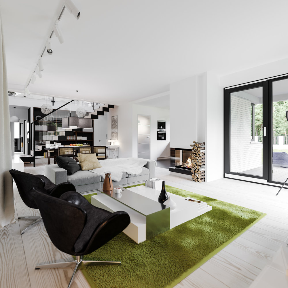 KM 3d interior visualisation — Pressenter Design