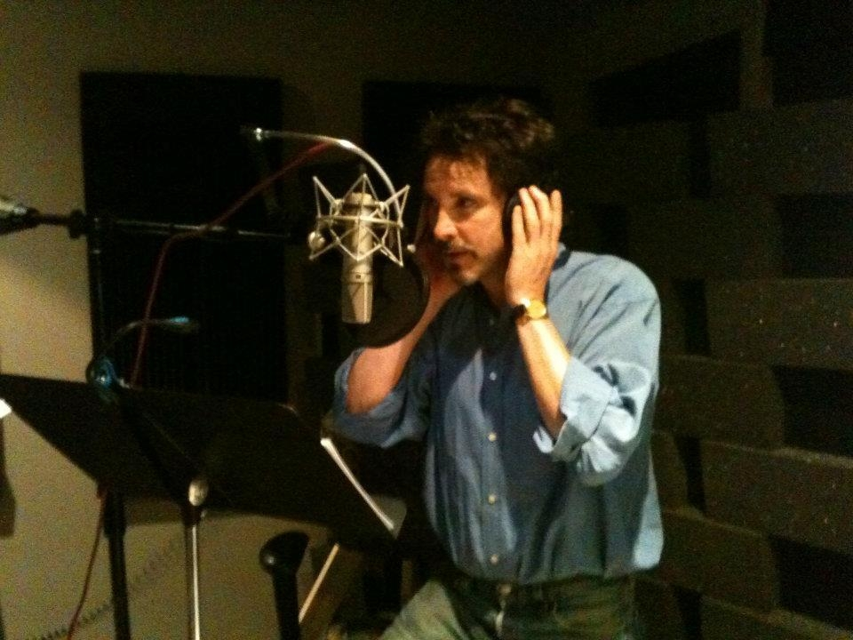 Tim in the Recording Studio