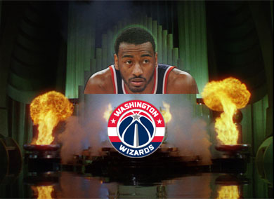 John Wall - A Wizard with the Ball - because of all the wonderful dunks he does!