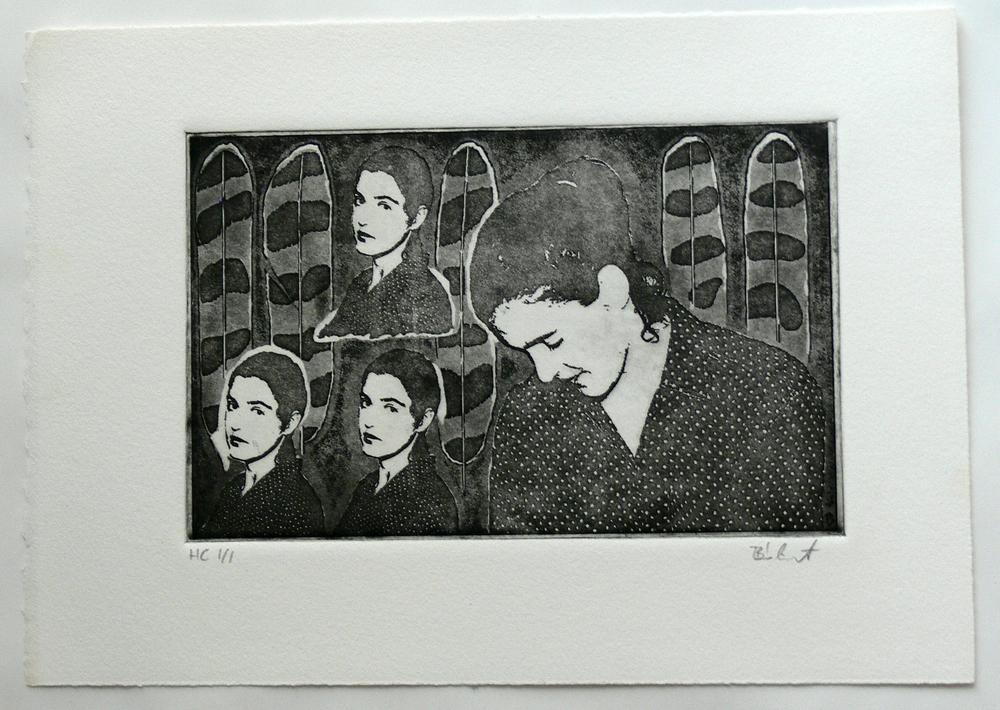 Untitled (photo etching)
