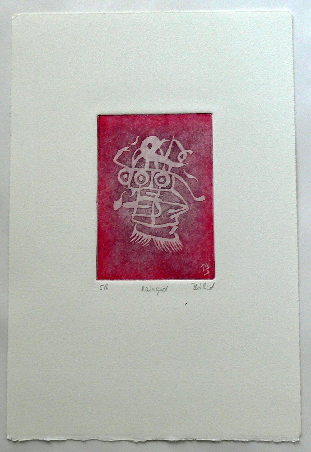 Raingod (etching)