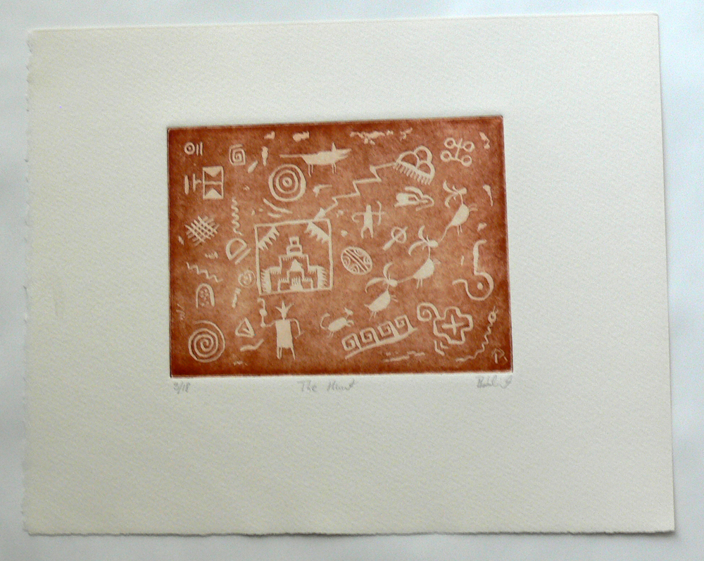 The Hunt (etching)