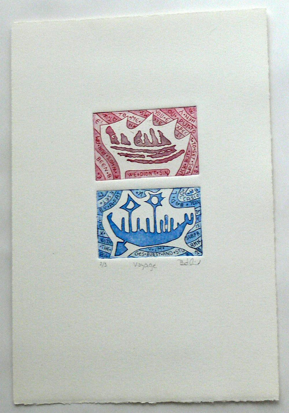 Voyage (etching)