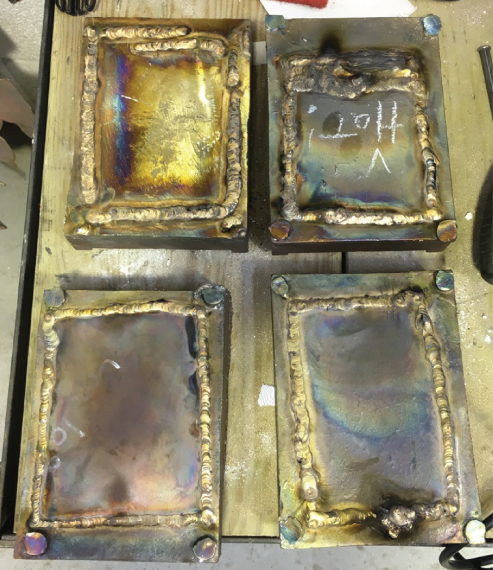 back plates welded in