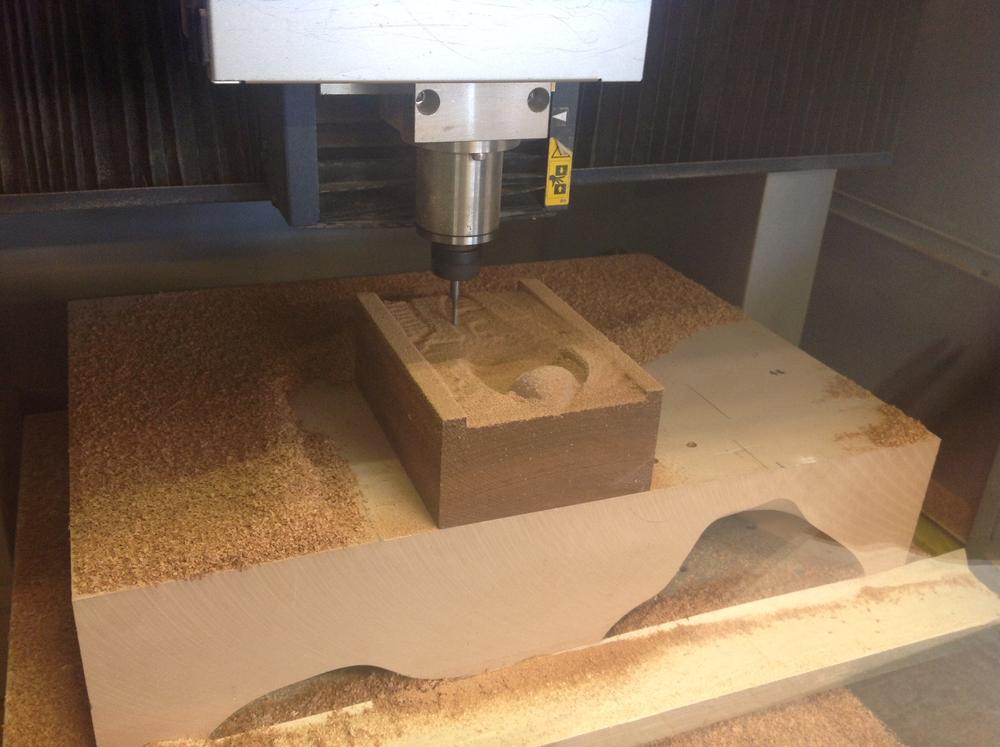 CNC machining the GFF