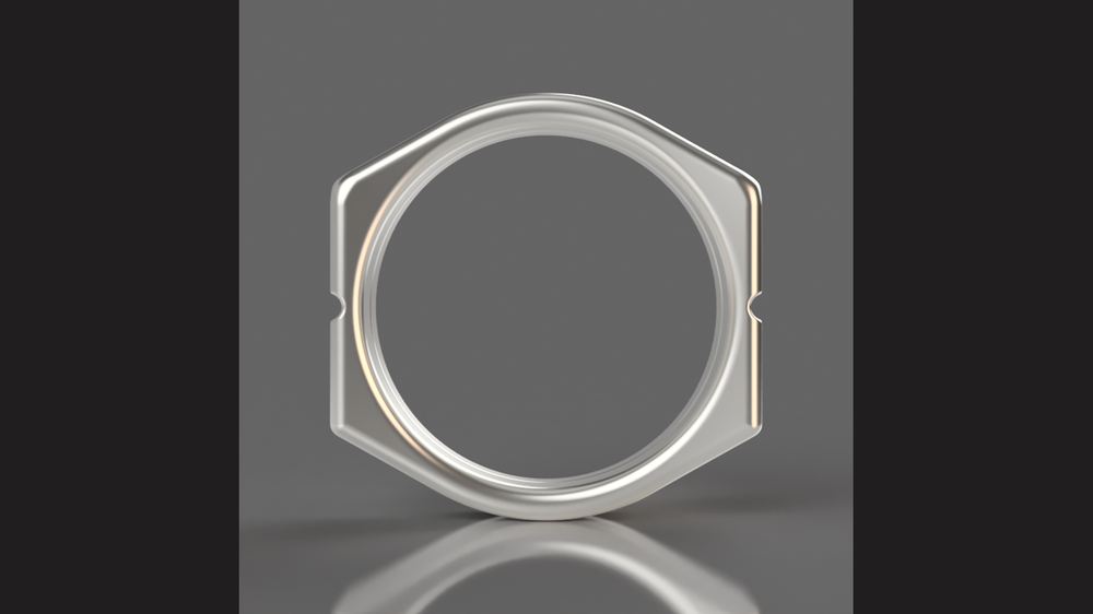 Fusion 360 model rendering