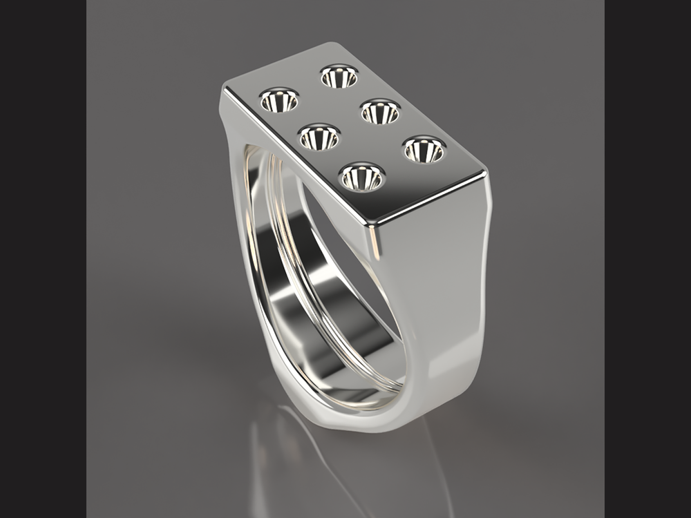 rendered Fusion 360 model