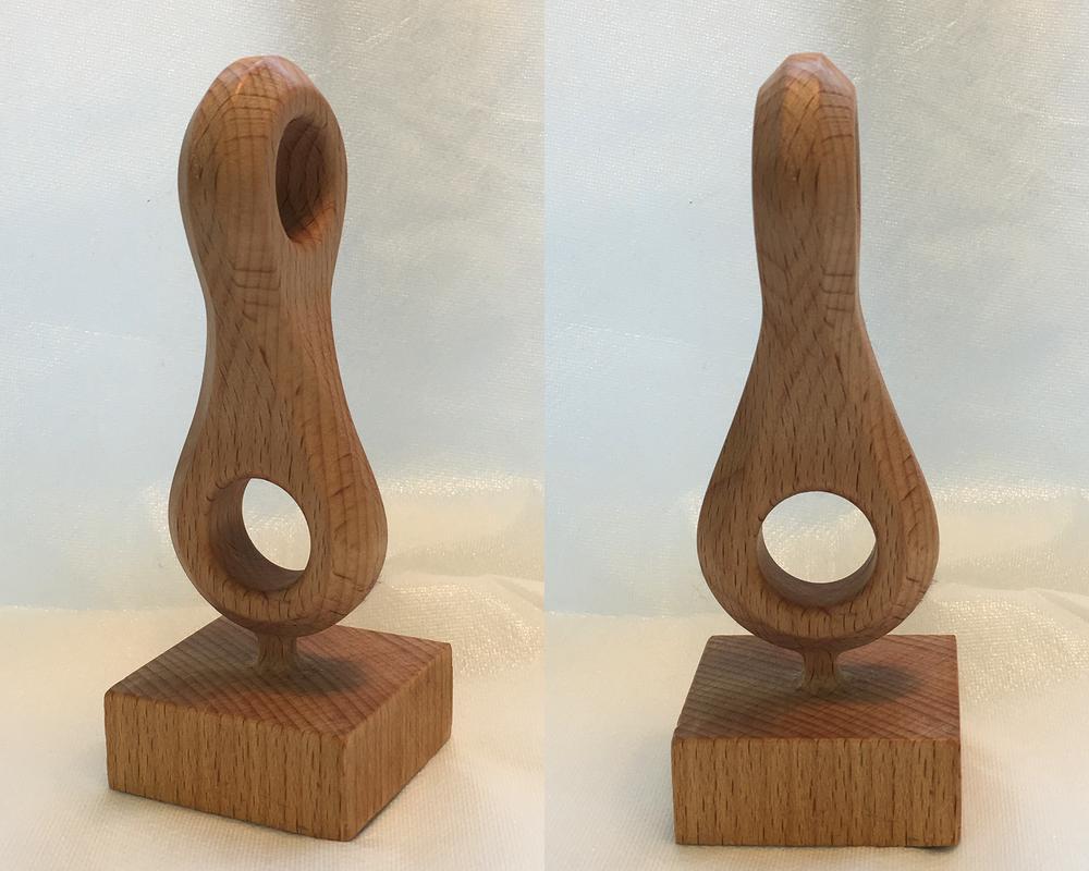 CNC milled wood