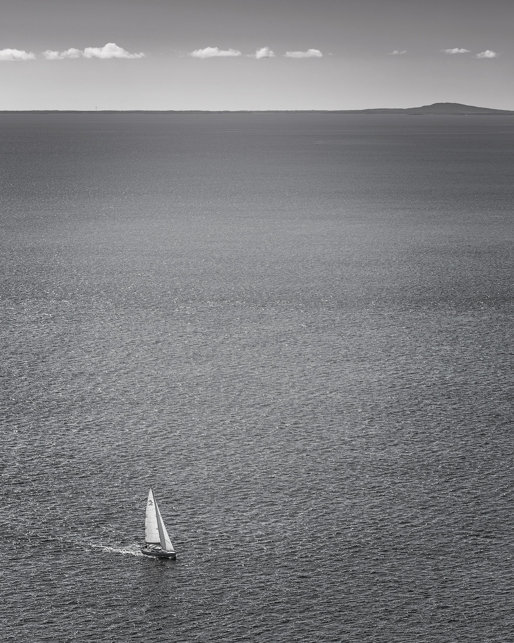 Alone on a wide, wide sea