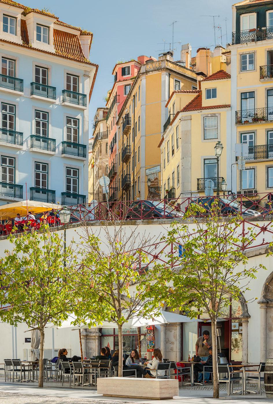 Lisbon layers...