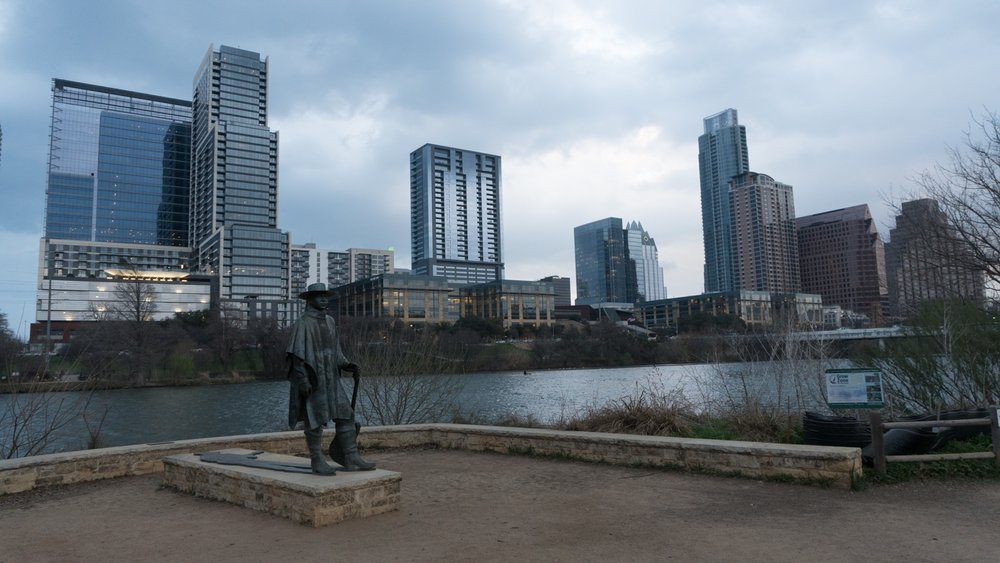 Steve Ray Vaughan Memorial, Austin