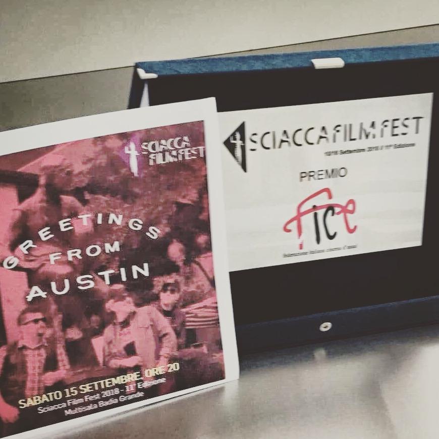 Special FICE Prize (Federazione Italiana Cinema d'Essai) @ Sciacca Film Fest 2018