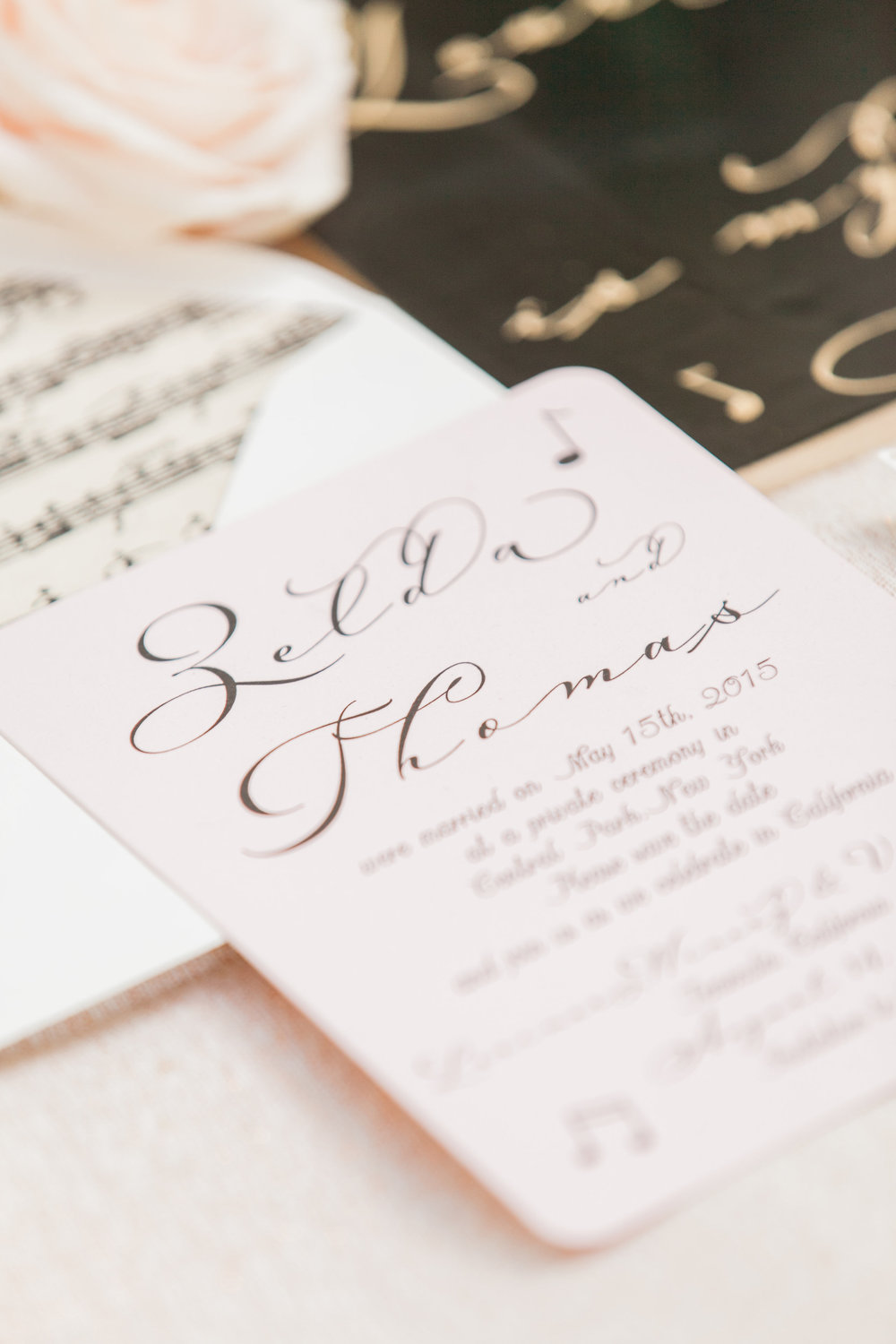 temeculaweddinginvitations.com | Paper Villa Stationery and Design | TBM Photography | Ballet Wedding Inspiration