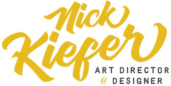 Nick Kiefer - Art Director & Designer