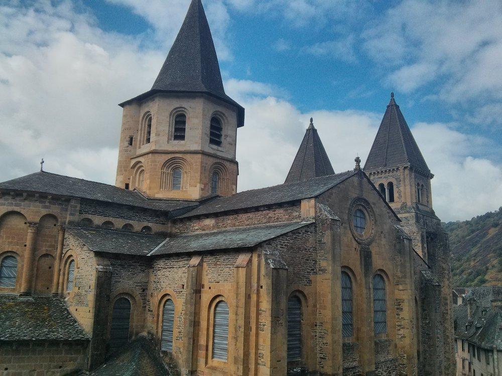 Abbey Church of Sainte-Foy ,© Anabel Roque Rodríguez