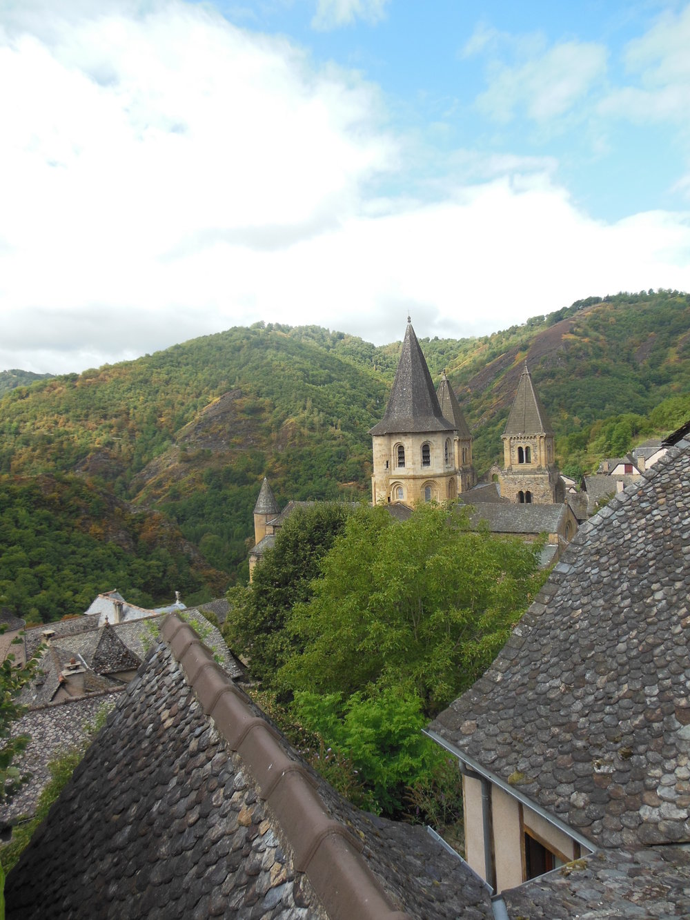 In the middle of the mountains, Conques, ©Anabel Roque Rodriguez