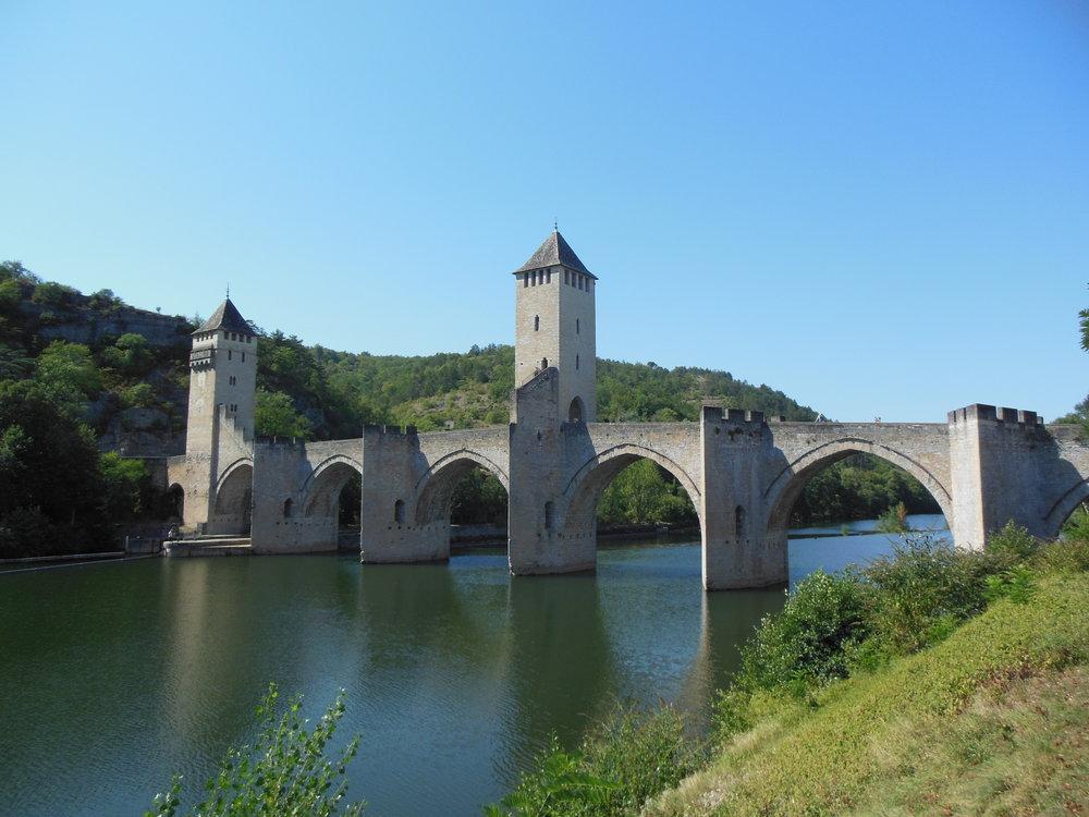 Pont Valentré, Cahors, Camino de Santiago © Anabel Roque Rodriguez